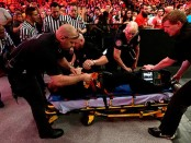 Jamie Noble injured
