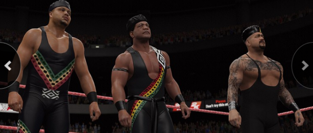 WWE 2K16 Nation of Domination