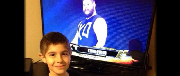 Kevin Owens and son