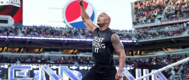 The Rock wrestlemania