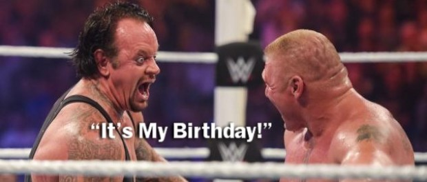 Undertaker birthday