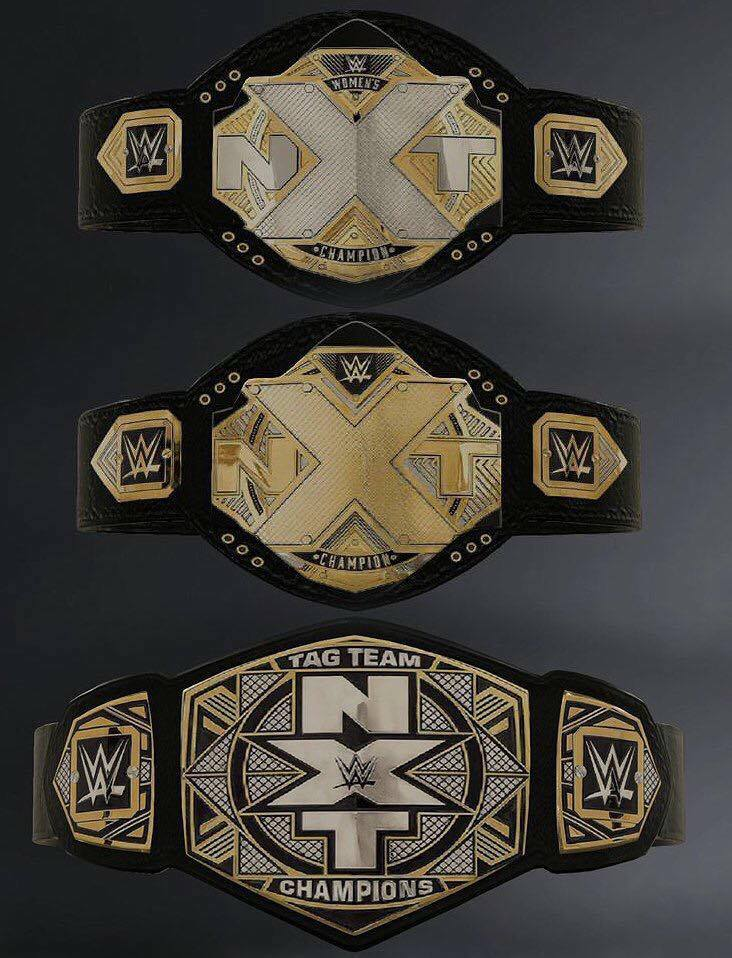 New NXT belts