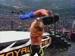 Chris Benoit chair shot